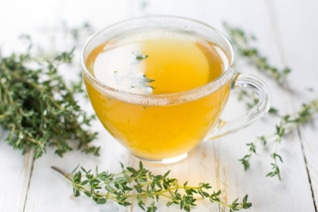 Herbal tea. Thyme