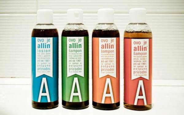 Allin šampon za kosu - prednosti i iskustva