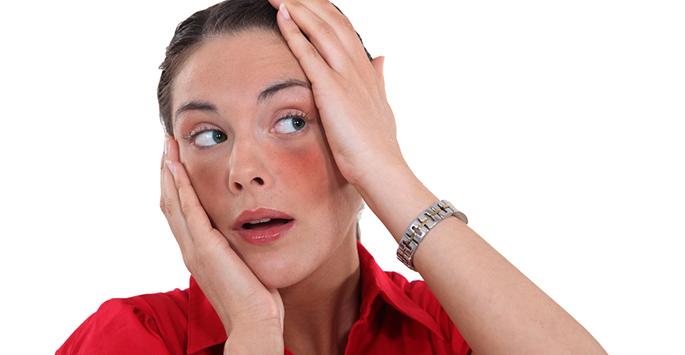 Kako ukloniti crvenilo na licu i obrazima